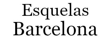 Esquelas Barcelona